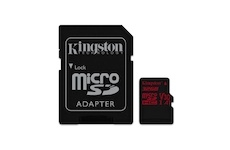 Kingston 32 GB Micro SDHC Canvas React C10 100R 80W + SD adapter